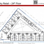 Sky Retails Level 24 Floor Plan