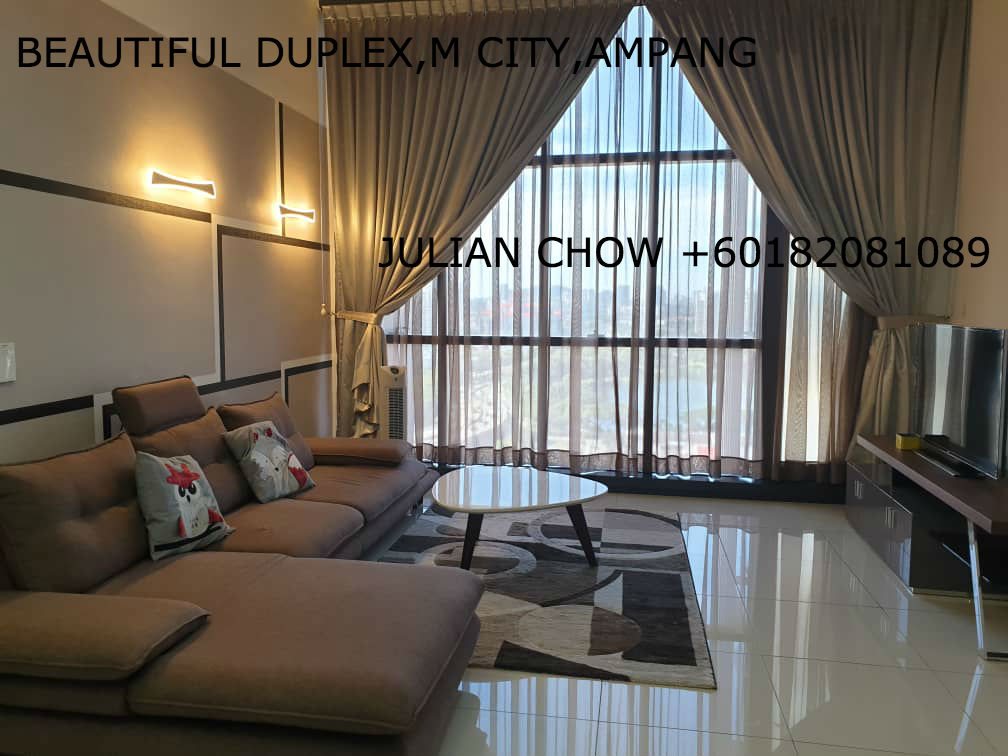 An EXTRAVAGANT ONE BEDROOM DUPLEX IN M CITY,JALAN AMPANG,KL