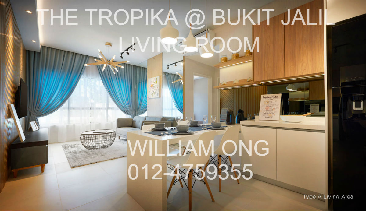 THE TROPIKA | BUKIT JALIL | LIVING ROOM