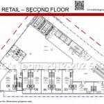 Duplex Retails 2nd Floor Plan