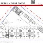 Duplex Retails 1st Floor Plan