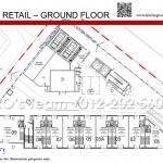 Duplex Retails Ground Floor Plan