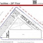 Level 26 - Rooftop Facilities Floor Plan