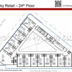 Sky Retails Level 24 Floor Plan