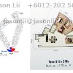 Type D10/D10a - 1172 sqft