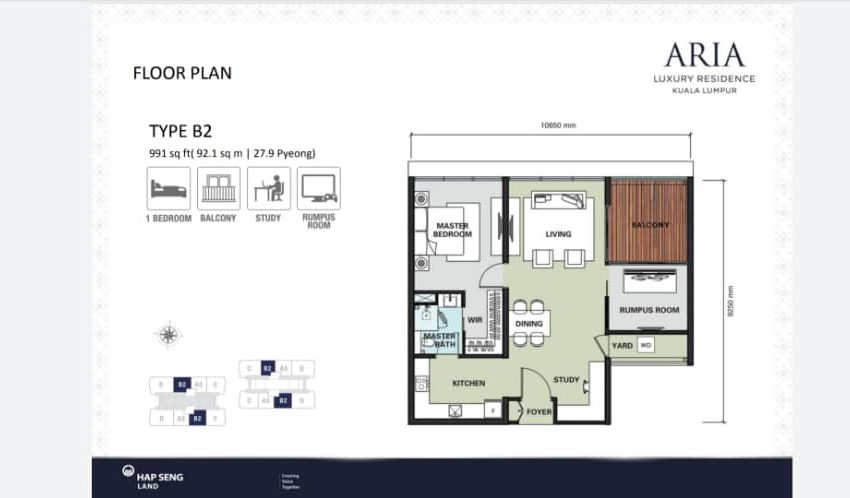 ARIA FLOOR PLAN