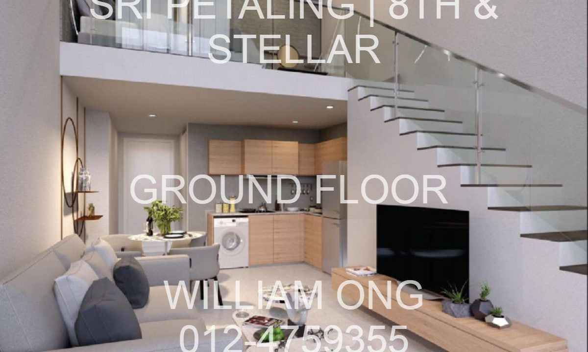 Sri Petaling | 8th Stellar | Duplex Groud Floor