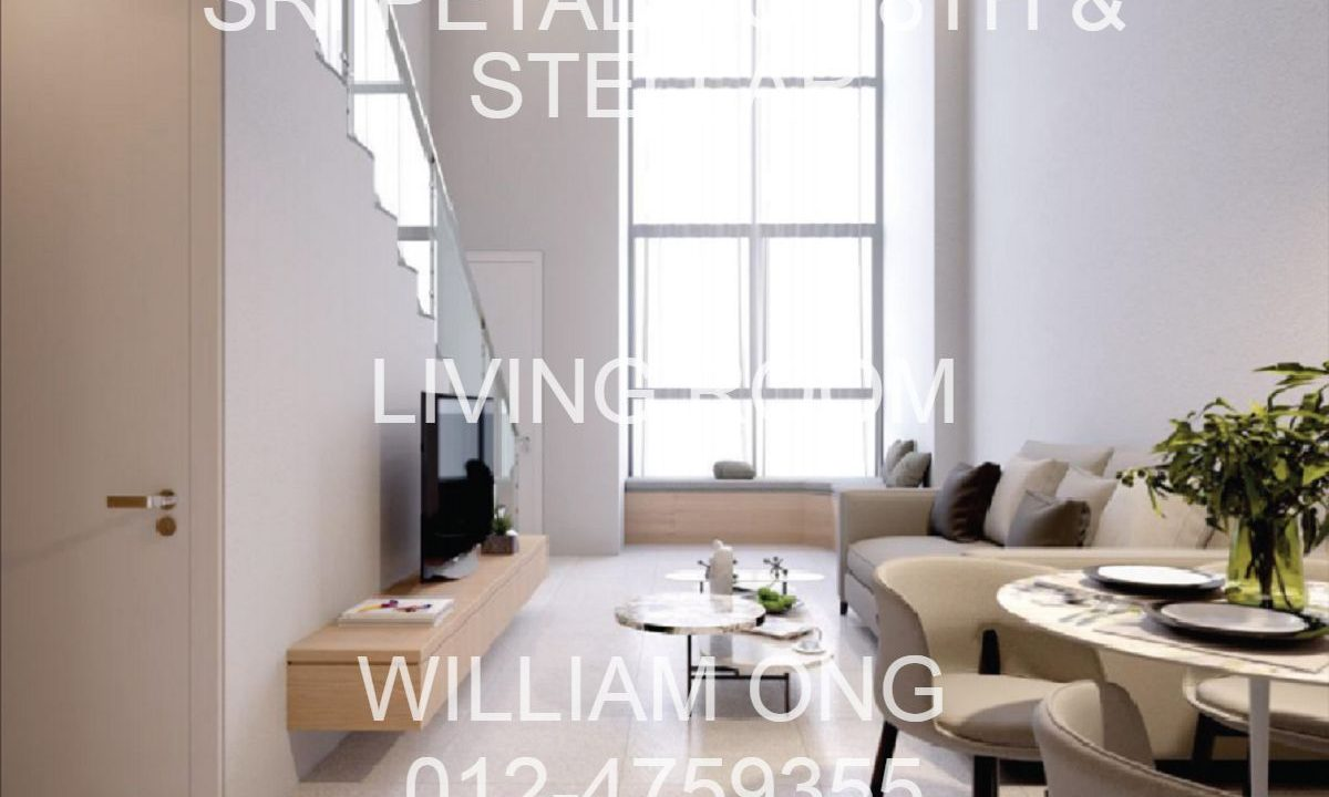 Sri Petaling | 8th Stellar| Duplex Living Room