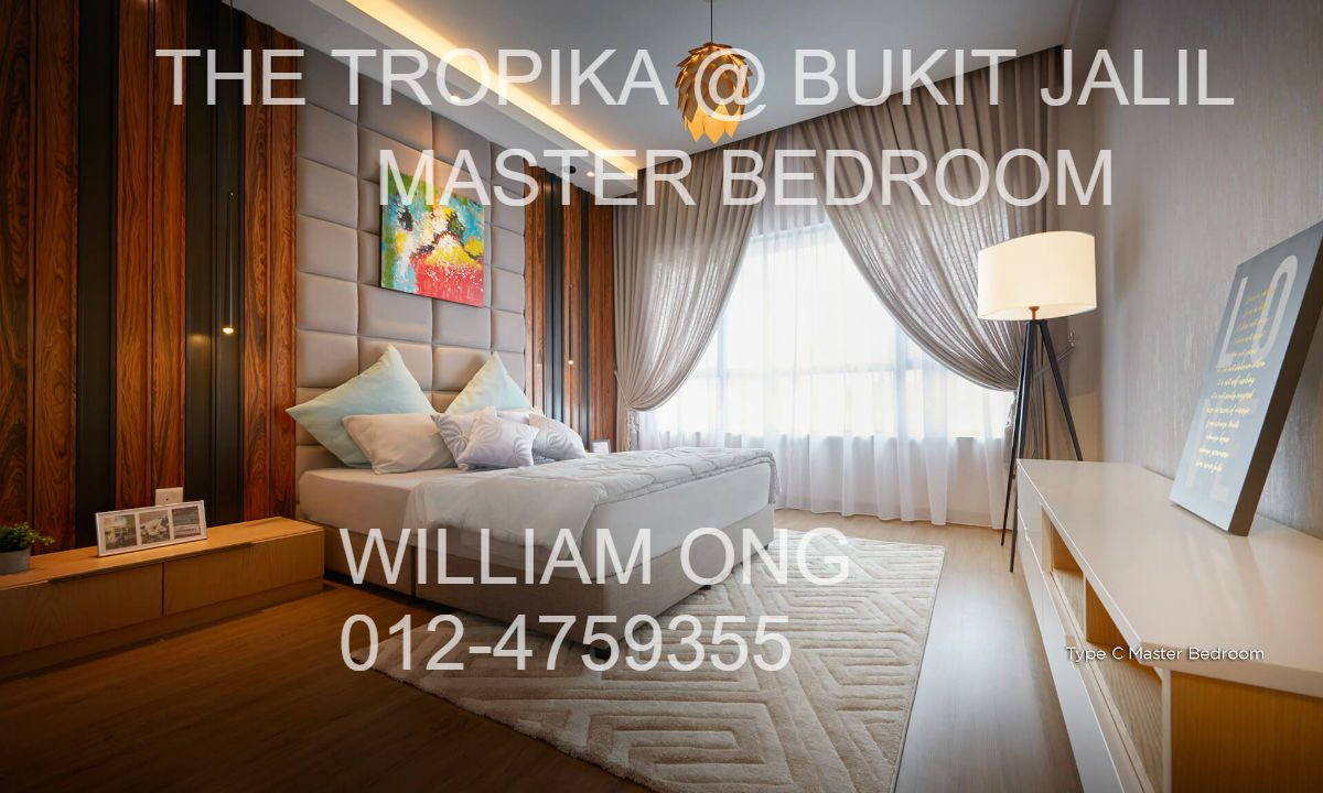 BUKIT JALIL | THE TROPIKA | MASTER BEDROOM