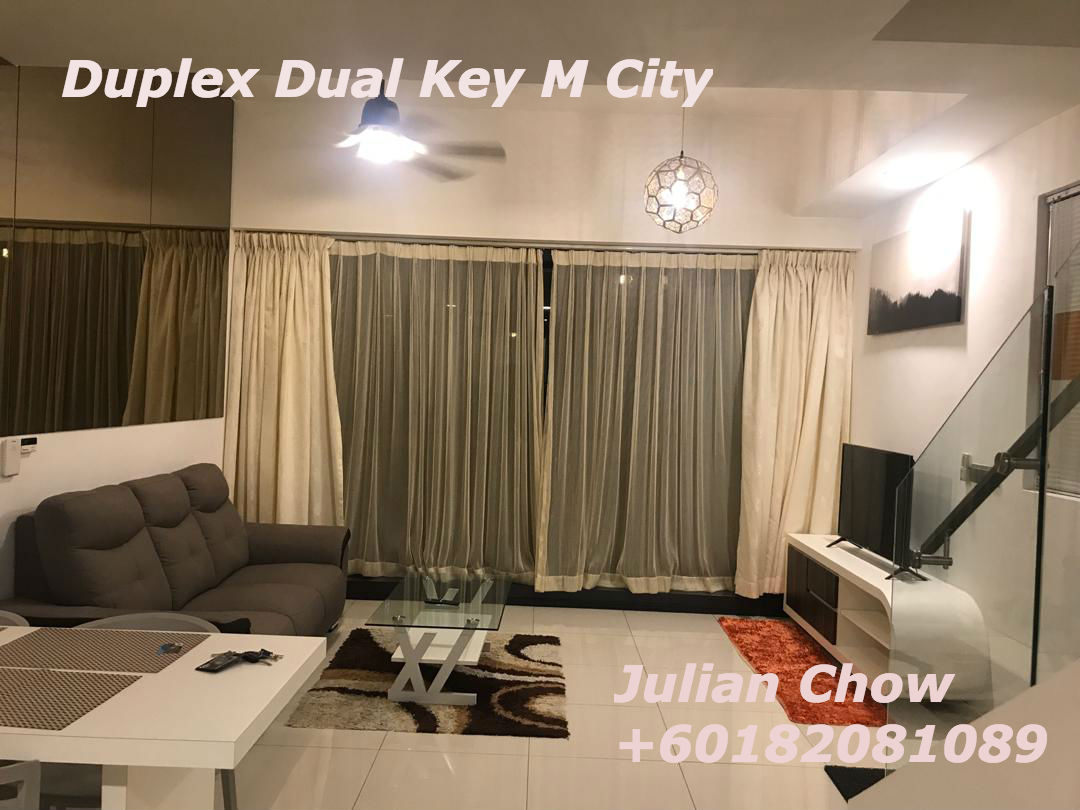Ampang M City Cosy One Plus One Duplex for Rent