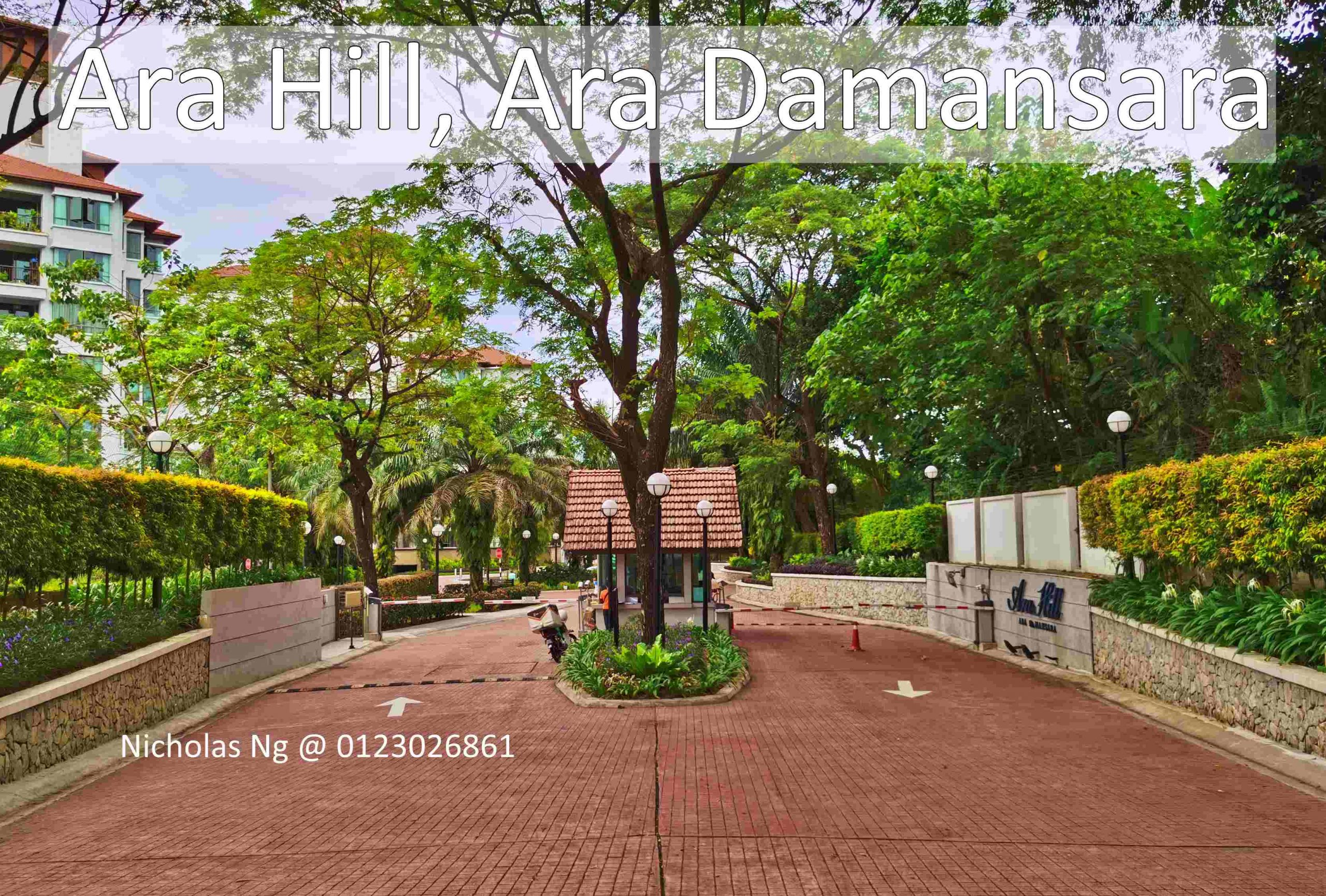 Ara Hill in Ara Damansara. A Resort Styled Condo for Tropical Lovers.