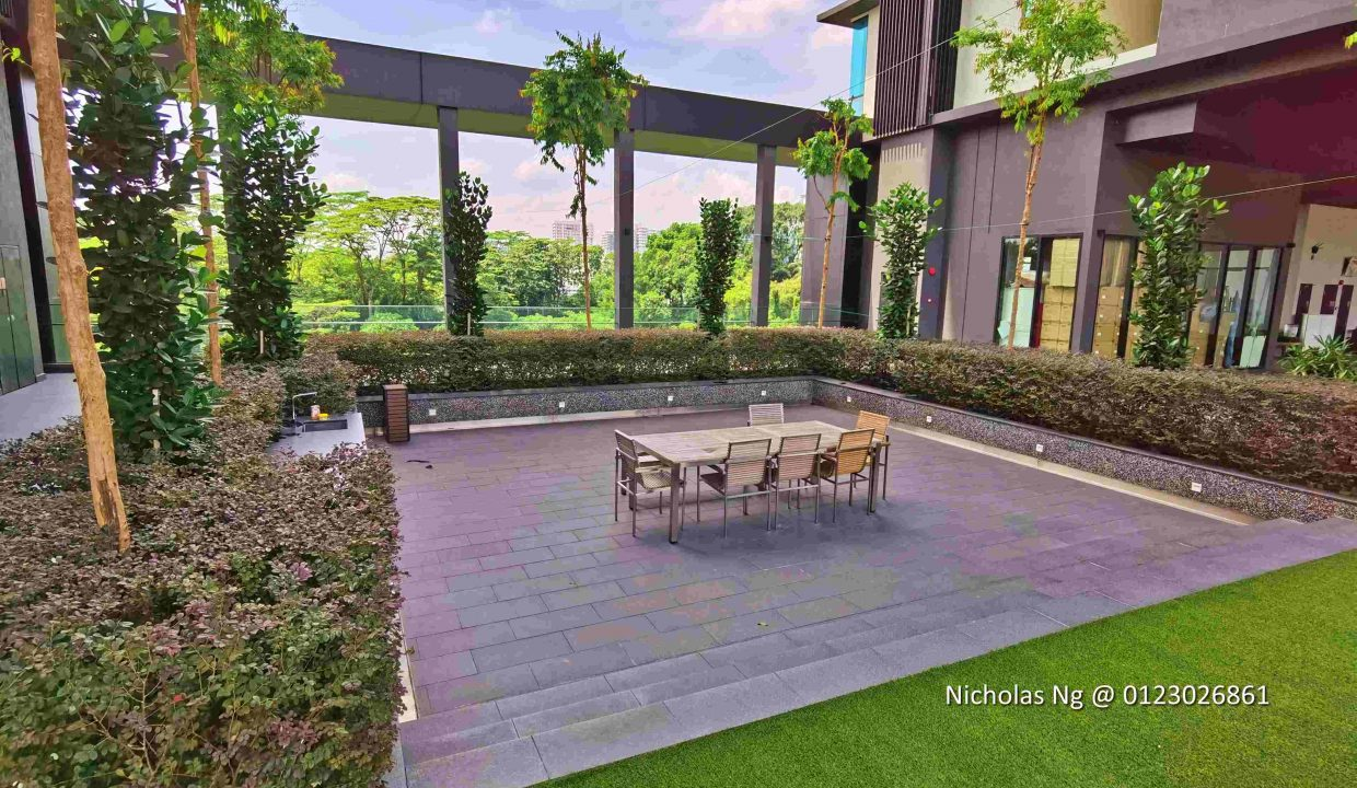 Opus Residences Outdoor Dining Area