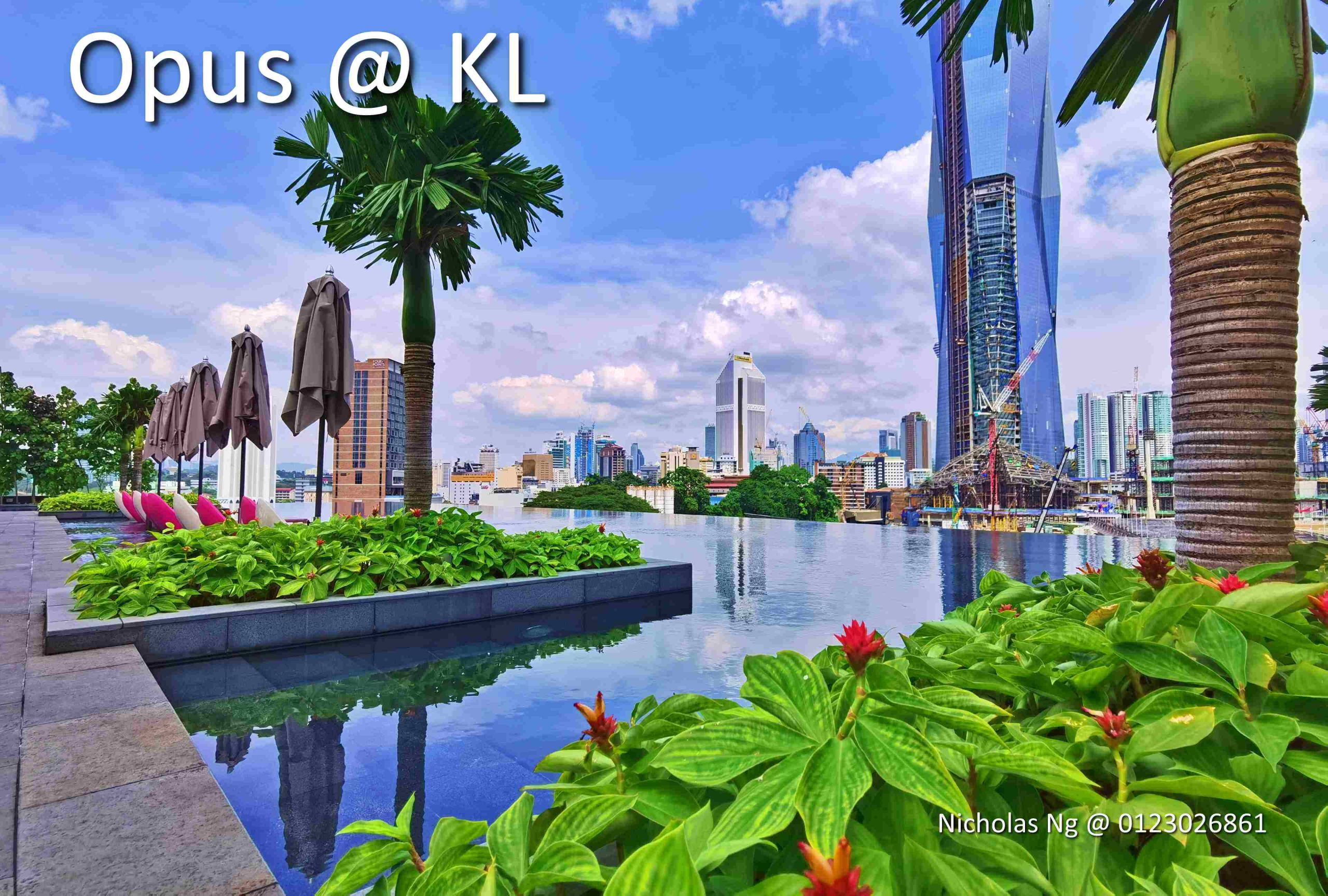 Opus @ KL. Newly Completed Service Apartment