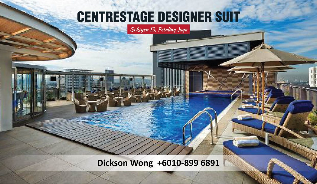 Centrestage Designer Suit-Swimming Pool