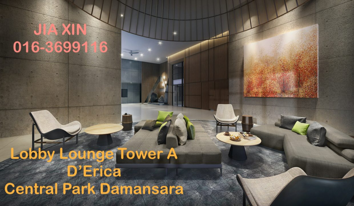 Lobby Lounge Tower A D'Erica